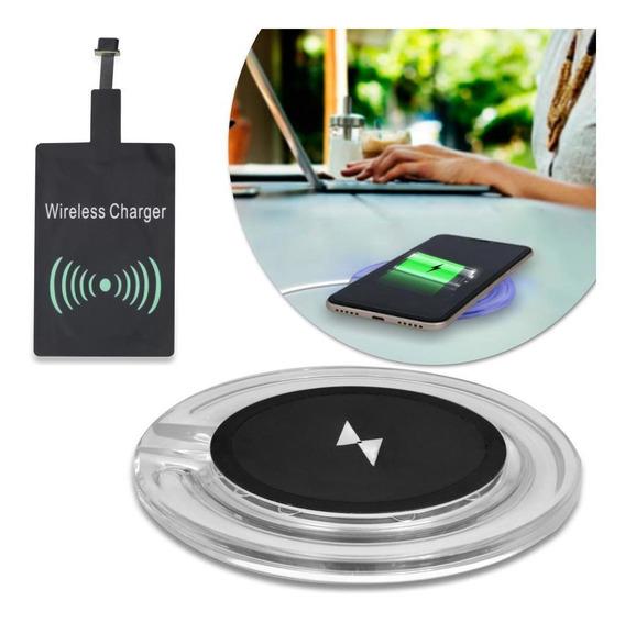 Carregador Sem Fio Wireless Indução Smartphone Android V8