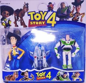 Kit Bonecos Toy Story 4 Com Nave