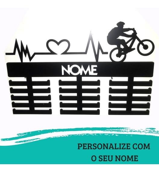 Porta Medalhas Mountain Bike + Batimento Fem Ou Masc