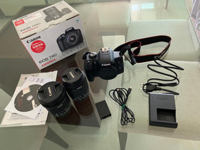 Câmera Canon Eos 750d (rebel T6i) +lente18-55 + Lente10-18mm