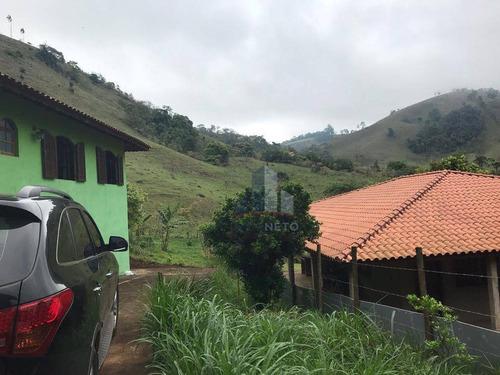 Chácara Com 3 Dormitórios Sendo Uma Suíte À Venda, 1600 M² Por R$ 210.000 - Água Comprida - Cambuí/mg - Ch0010