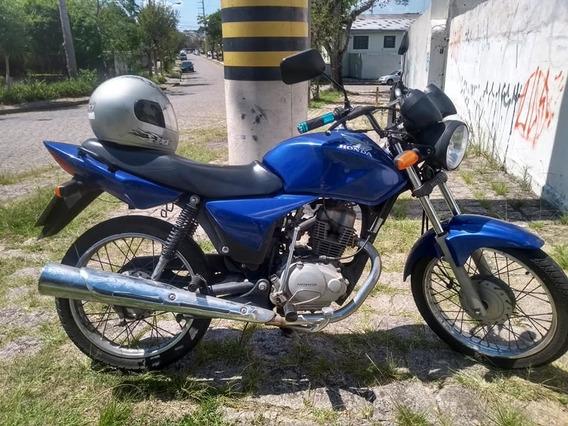 Moto Cg 150 Titan Azul