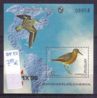 Uruguay - Bloc Ave Bf57
