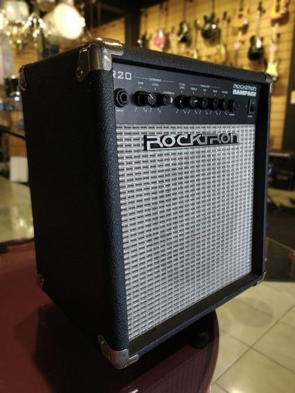 Amplificador Para Guitarra 40w Rms Rocktron Rampage R20