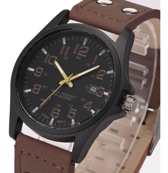 Reloj Militar Hombre Fecha Caballero Moda Deportivo A107