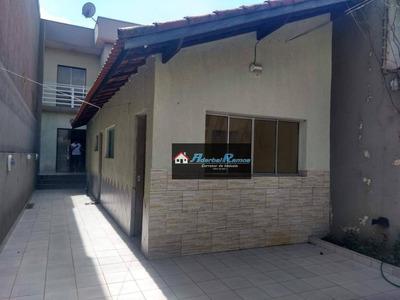 Casa Com 4 Dormitórios Para Alugar, 180 M² Por R$ 1.350/mês - Balneário São João Batista I - Peruíbe/sp - Ca1363