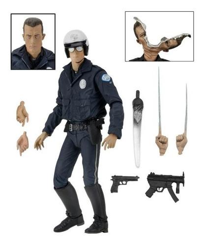 Imagen 1 de 5 de T-1000 (motorcycle Cop) Terminator 2 Ultimate Neca