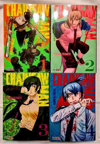 Imagen 1 de 1 de Chainsaw Man - Tomo 1 Al 4 - Manga - Ivrea