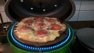 Forno Para Pizza Portátil A Gás