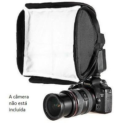 Soft Box Portátil Para Flash Fotografia Estúdio Iluminação