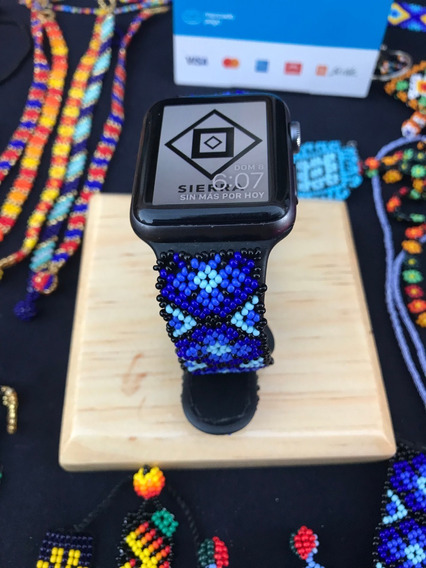 Correa Apple Watch Arte Huichol Wixarika