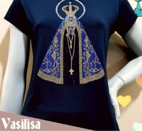 Roupa Blusa Camiseta Feminina Vários Tamanhos