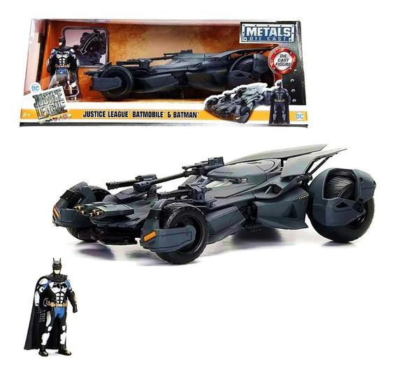 Batimovil Con Batman Dc 2016 Bcs Escala 1:24