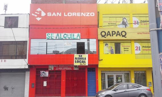 Alquiler Local Comercial En San Juan De Lurigancho
