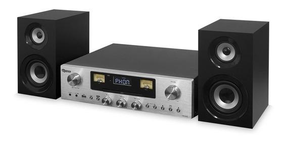 Raveo Rr-1000 Receiver Phono Aux Usb Cd Mp3 Bluetooth Bivolt