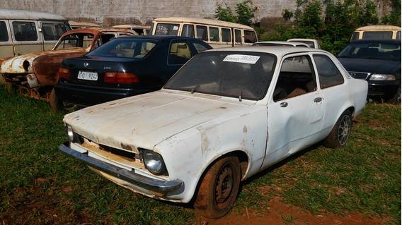 Chevrolet Chevette Tubarão Sucata Baixado No Detran Funciona
