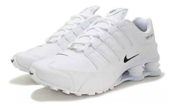 Tênis Masculino Nike Shox Nz 4 Molas Original Frete Grátis