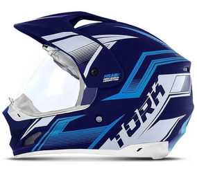 Capacete Motocross Masculino Th1 New Adventure Pro Tork