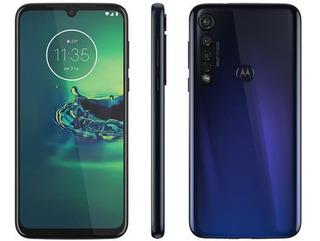 Celular Motorola Moto G8 Plus Azul Safira 64gb Câmera Tripla