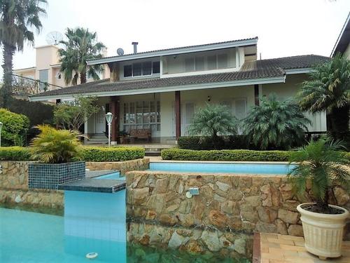 Imagem 1 de 25 de Casa A Venda Condomínio Parque Das Garças Atibaia Portaria, Rondas E Área De Lazer... - Ca01337 - 69495609