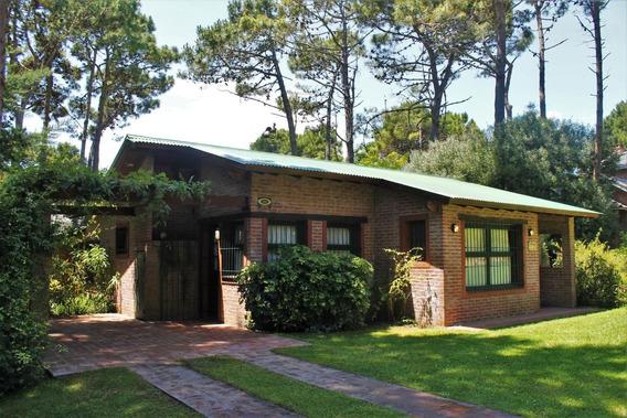 8608 - Casa En Alquiler Pinamar Norte