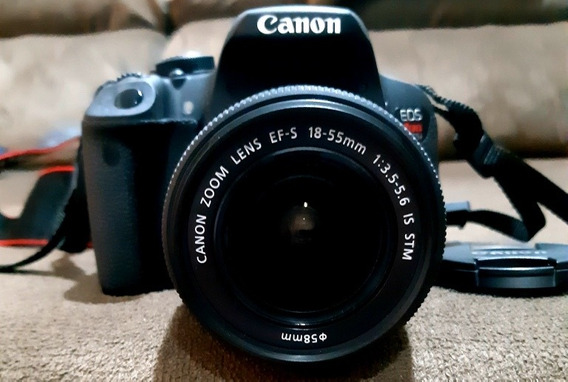 Câmera Canon T5i Eos Rebel 18-55mm Nova