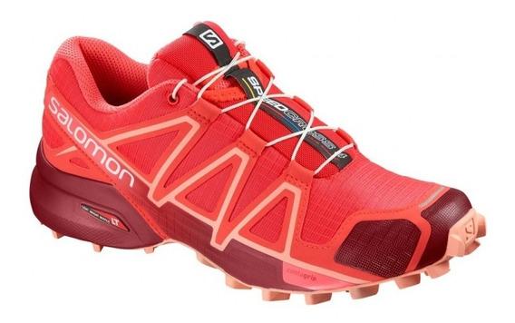 Zapatilla Salomon Speddcross 4 Mujer Trail Running 404638
