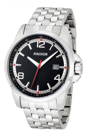 Relógio Magnum Ma34629t Com Calendario