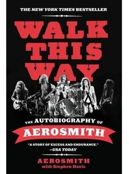 Livro Walk This Way: The Autobiography Of Aerosmith