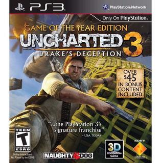 Uncharted 3 Drakes Deception Ps3 Digital En Manvicio!!!