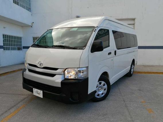 Toyota Hiace 2.7 Ventanas Superlarga Mt 2018 Credito Naciona