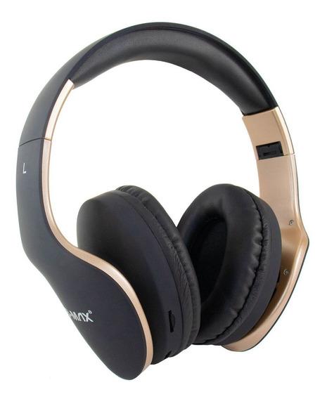Fone De Ouvido Sem Fio Bluetooth Com Rádio Fm Entrada Sd P2