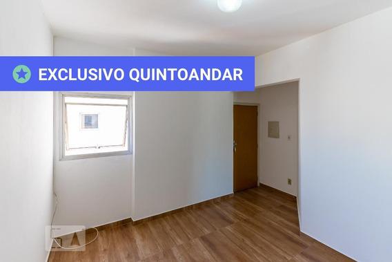 Apartamento No 14º Andar Com 1 Dormitório E 1 Garagem - Id: 892946643 - 246643