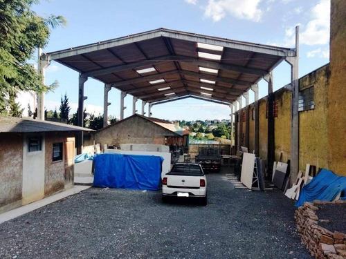 Barracão À Venda, 700 M² Por R$ 650.000,00 - Centro Industrial Mauá - Colombo/pr - Ba0002