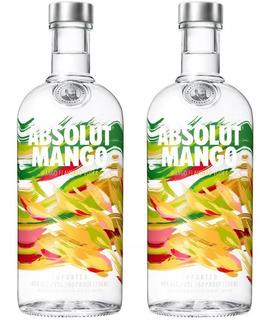 Vodka Absolut Todos Los Sabores 2 Botellas Podes Combinar