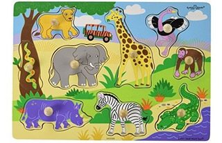 Puzzles De Madera Ryans Room Small World Toys Safari