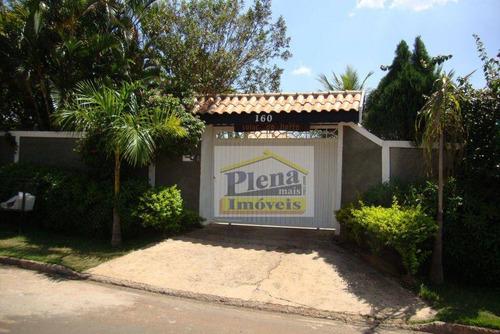 Imagem 1 de 30 de Chácara  Residencial Maravilhosa À Venda, Jardim Boa Vista, Hortolândia. - Ch0006