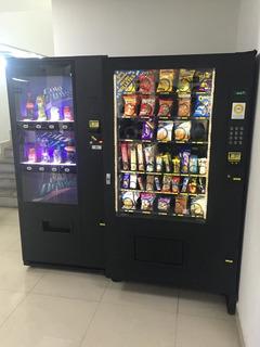 Maquina Expendedoras De Botanas Y Refrescos Vending