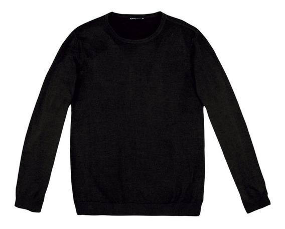 Blusão Masculino Em Tricô De Algodão Hering - K0wg