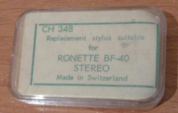 Aguja Toca Disco Ch 348 Ronette Bf-40