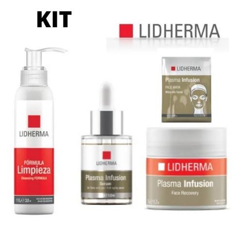 Kit Plasma Infusion Nuevo Completo X 4 Anti Age Lidherma