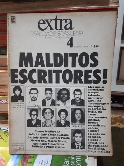 Revista Extra Realidade Brasileira Nº 4 1977 Raro Antigo