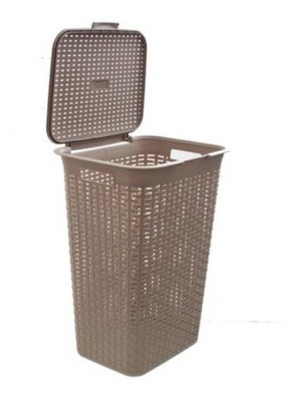 Canasto O Cesto Ropa Ideal Para Lavadero Baño + Diseño Unico