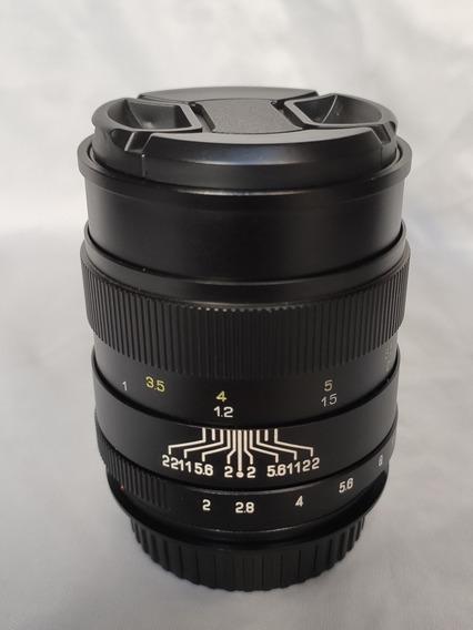 Lente Jupiter-9 85mm F 2.0 Para Canon