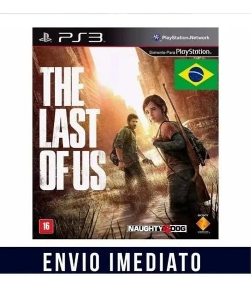 The Last Of Us Ps3 Dublado + Pacote 500 Jogos Ps3(bloqueado)