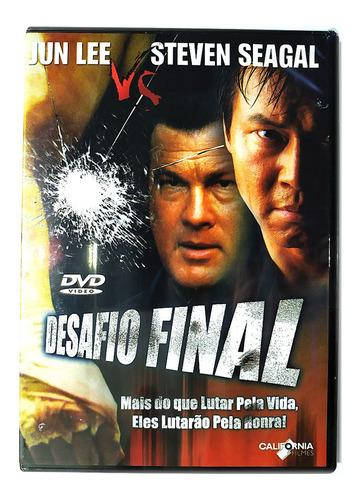 Dvd Desafio Final Steven Seagal Jun Lee Clementine Novo Orig | Mercado Livre