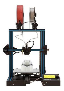 Impresora 3D Hellbot Magna Dual negro/celeste 110V/240V con tecnología de impresión FDM