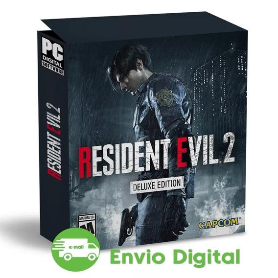 Resident Evil 2 Pc Remake Deluxe Edition Mídia Digital Pt Br