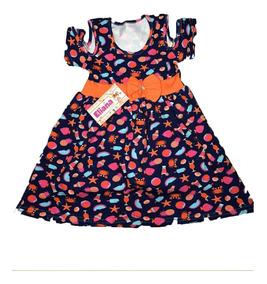 Kit 20 Vestidos Infantil Femininos Menina Revenda Atacado