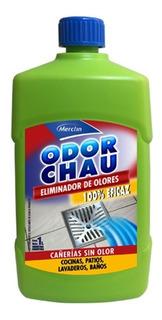 Eliminador De Olores Cañerias Odorchau Merclin 1l
